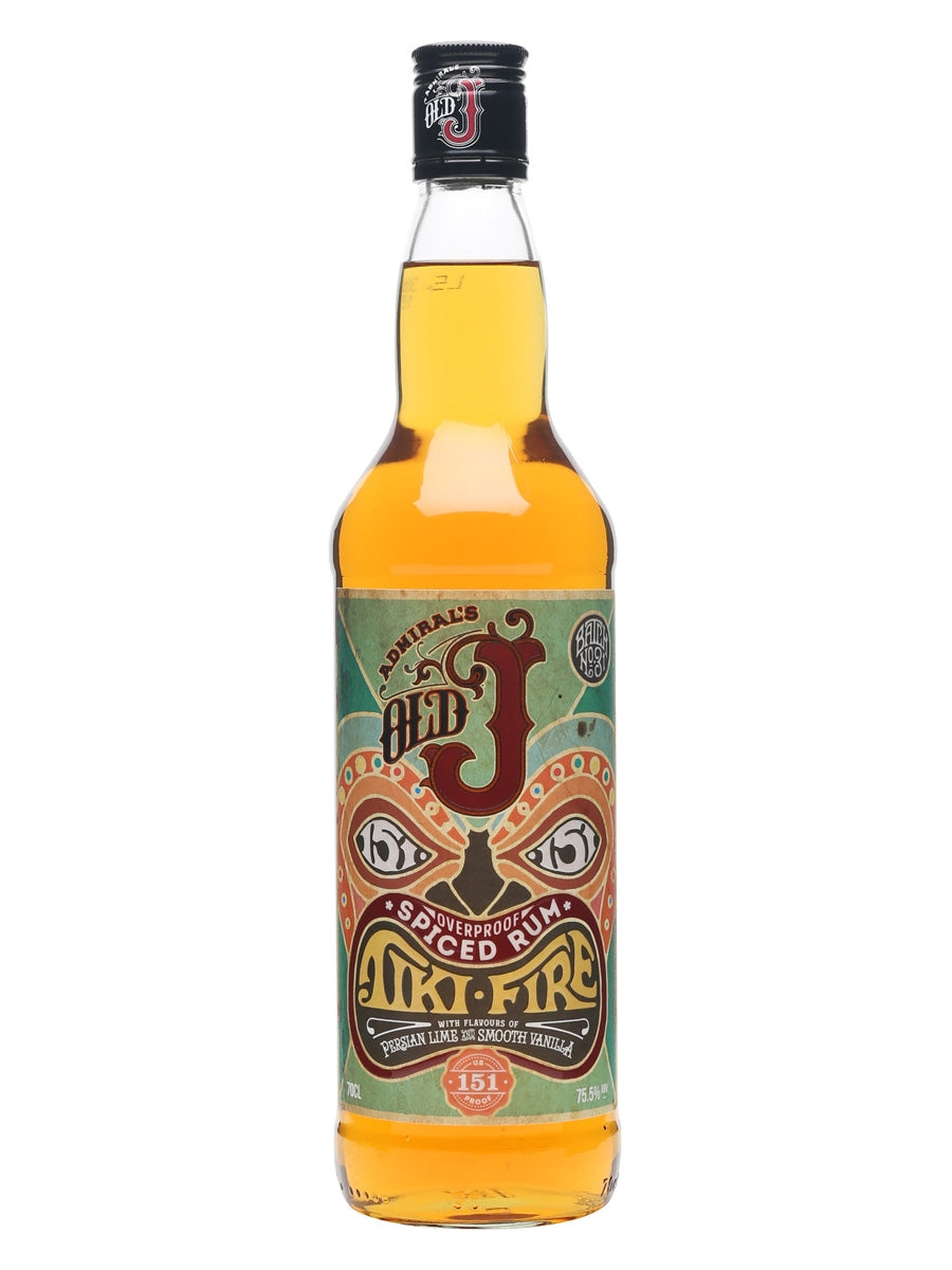Old J Tiki Fire Rum