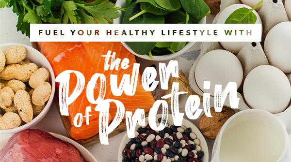 Fuel Your Healthy Lifestyle with the Power of Protein