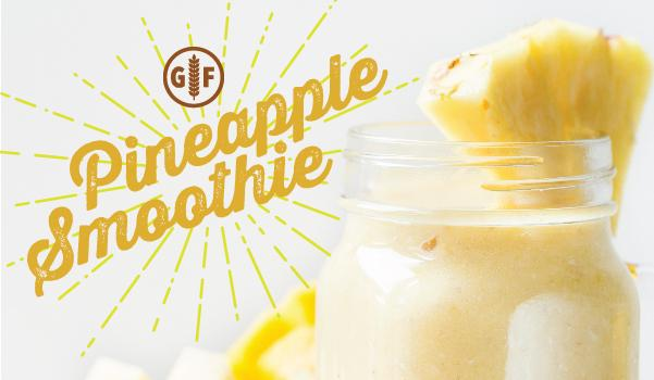 Gluten-Free Pineapple Smoothie