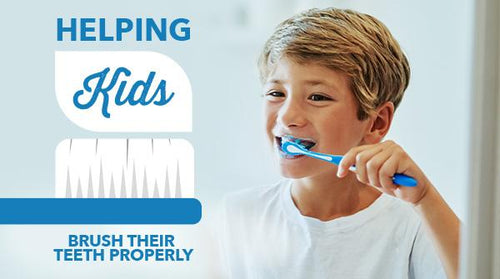 Helping Kids Brush Their Teeth Properly