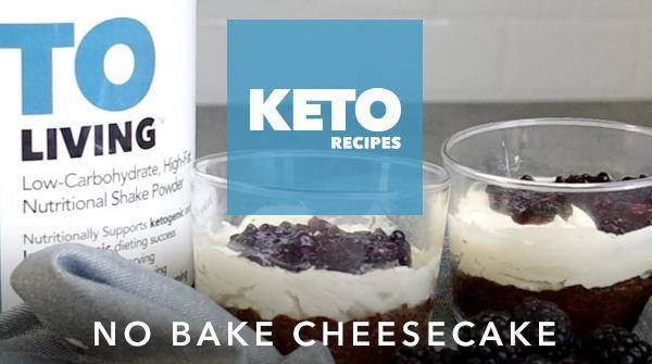 Keto No Bake Cheesecake Recipe