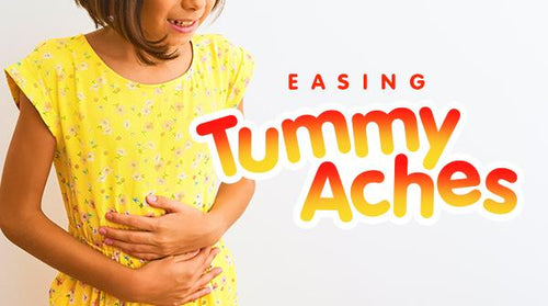 Natural Ways to Ease Kids' Tummy Aches