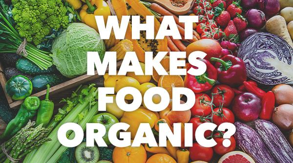 What Makes Food Organic?