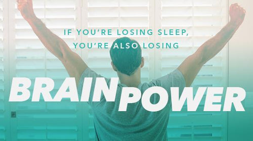 If You're Losing Sleep, You're Also Losing Brain Power