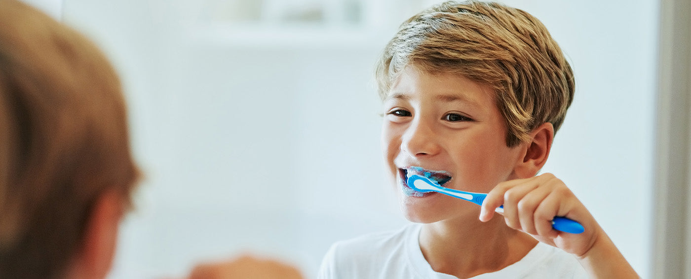 Helping Kids Brush Their Teeth Properly article banner