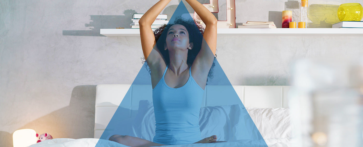What Yoga Poses Are Good for Sleep? article banner