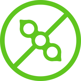 green soy-free icon