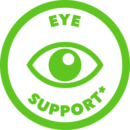 green eye support icon