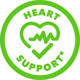 green heart support icon