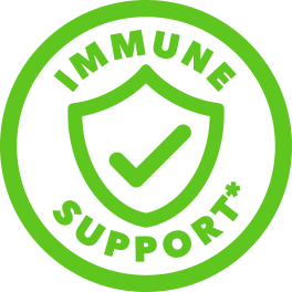 green immune support icon