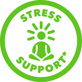 green stress support icon
