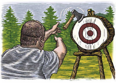 Axe Throwing - Step 3