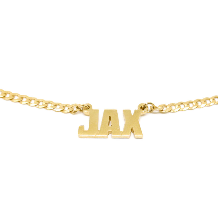 Mini Name Plate Necklace