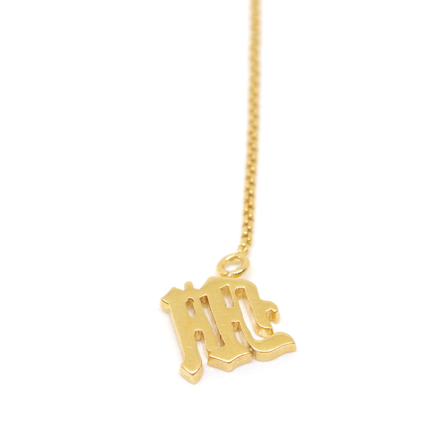 Drop letter Necklace
