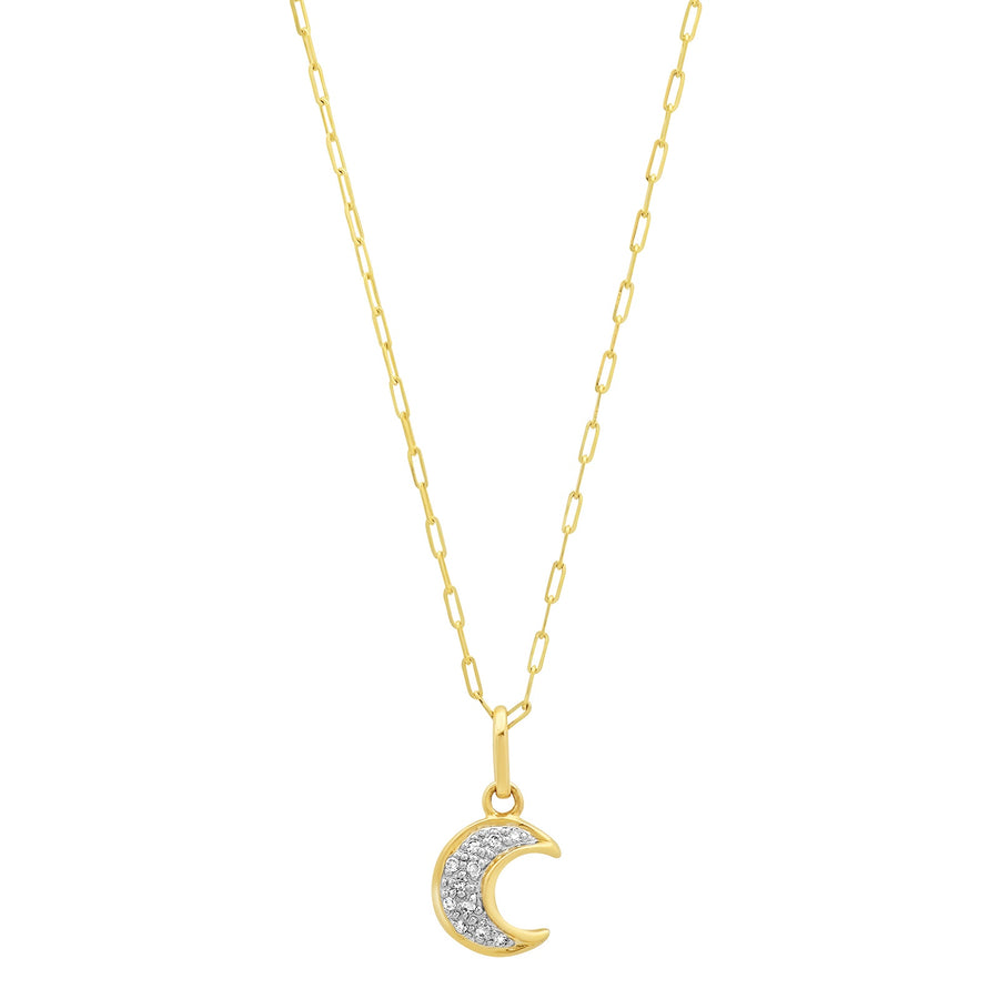 Pave Moon Diamond