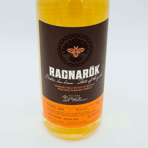 Ragnarök. Whiskey Aged Mead - 750ml. March 2021