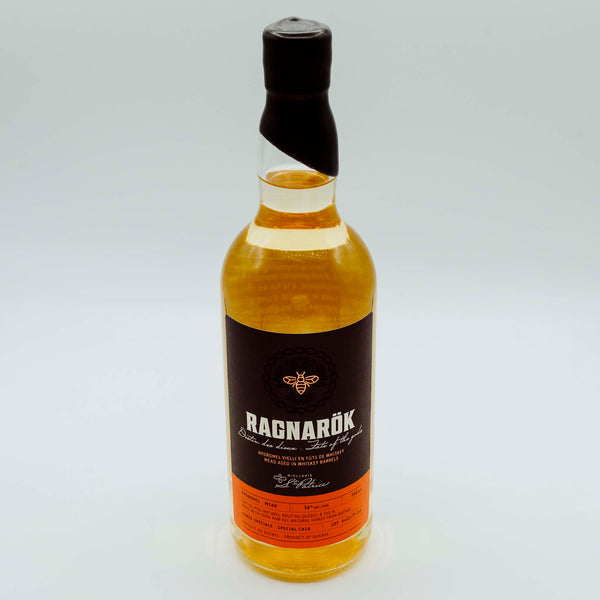 Ragnarök. Whiskey Aged Mead - 750ml. W2020-01 PRE ORDER