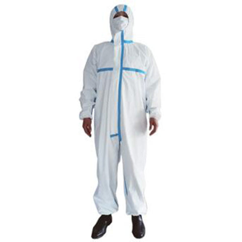 Sanitised medical coverall gown for extra protection and hygiene. Superior fabric with excellent breathability. FDA and CE approved