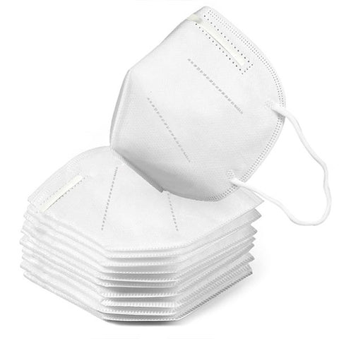N95 respirator mask. Suitable for medical use. CE and FDA approved.