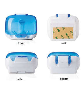 Toothbrush Sanitizer Small Case with UV Light
