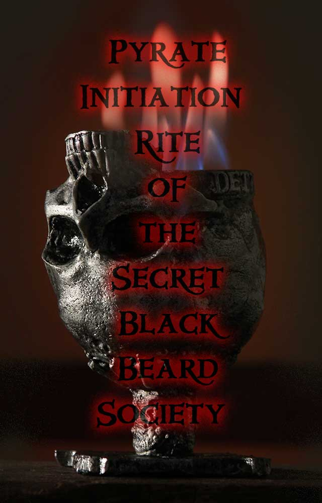 Initiation Rites of Secret Black Beard Society