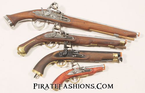 Black Powder Pirate Flintlock Pistol – Pirate Fashions