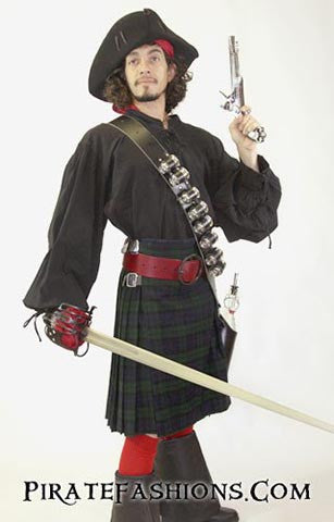 Kilted Pirate