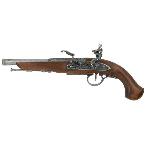 Left Handed Flintlock Pistol (Non-Firing Replica)
