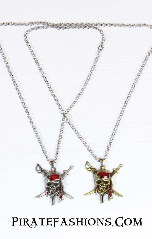 POTC Skull Necklace