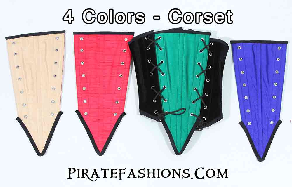 Reversible Panel Corset