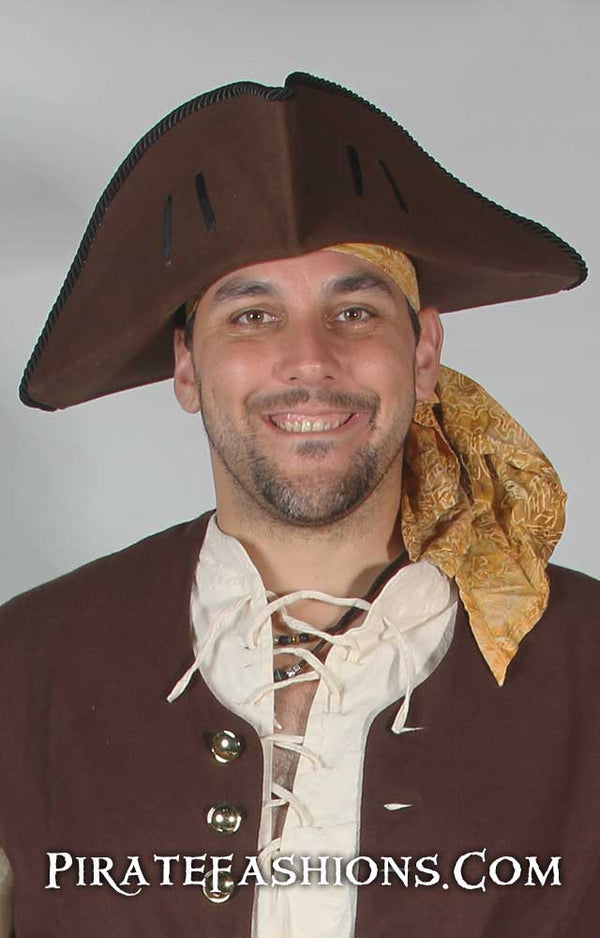 Able Seamen Tricorne Pirate Hat