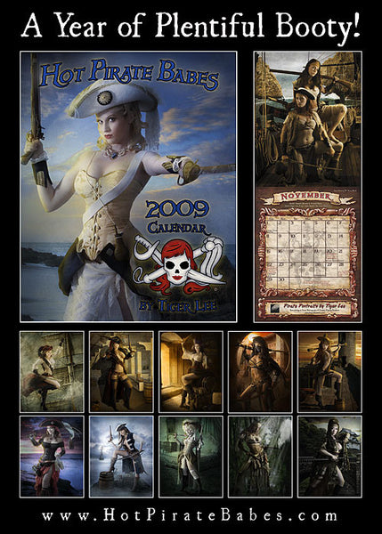 2009 hot pirate babes calendar  u2013 pirate fashions