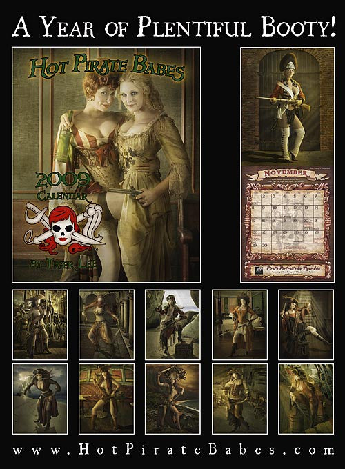 2010 Hot Pirate Babes Calendar