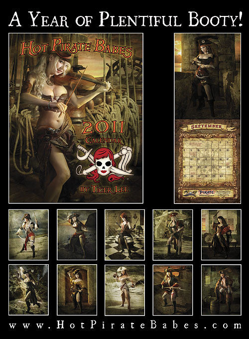 2011 Hot Pirate Babes Calendar