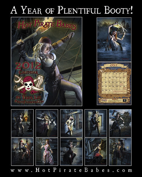 2012 Hot Pirate Babes Calendar