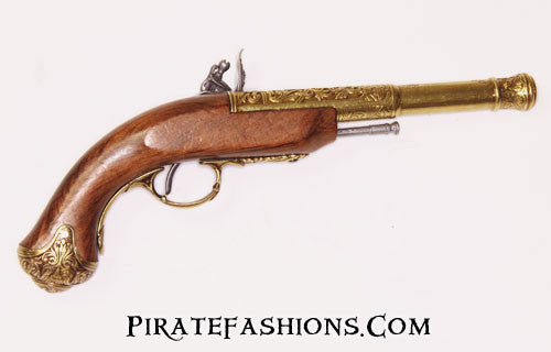 Queen Anne Flintlock Pistol (Non-Firing Replica)