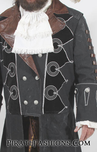 Assasin's Creed Blackbeard coat