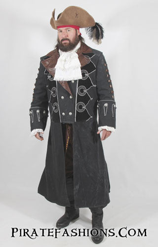 blackbeard full coat front