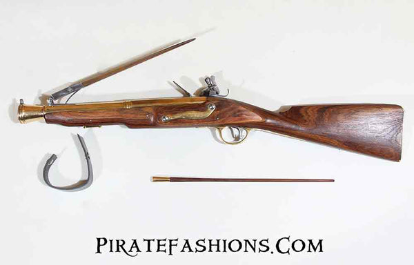 British Blunderbuss with Spring Bayonet (Black Powder)