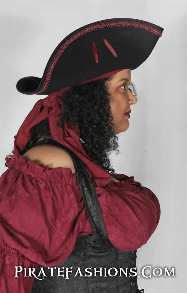 Bosun Pirate Tricorn Hat