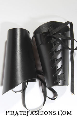 Leather Pirate Bracers