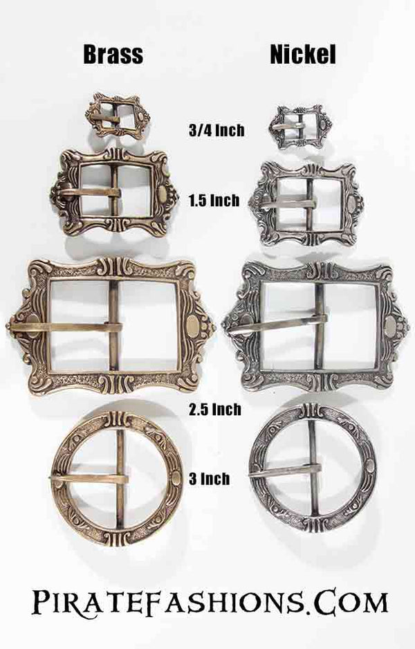 Period Pirate Buckles