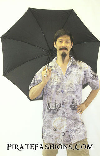 Open Pirate Cutlass Umbrella