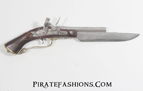 cutlass flintlock pistol