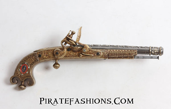 Scottish Murdock Flintlock Pistol (Non-Firing Replica)