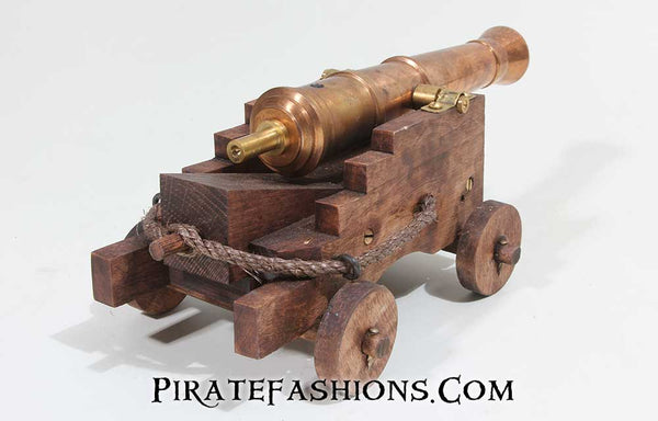 Mini Bronze Deck Gun (Black Powder)