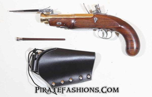 Dragon Pistol with Bayonet (Black Powder)