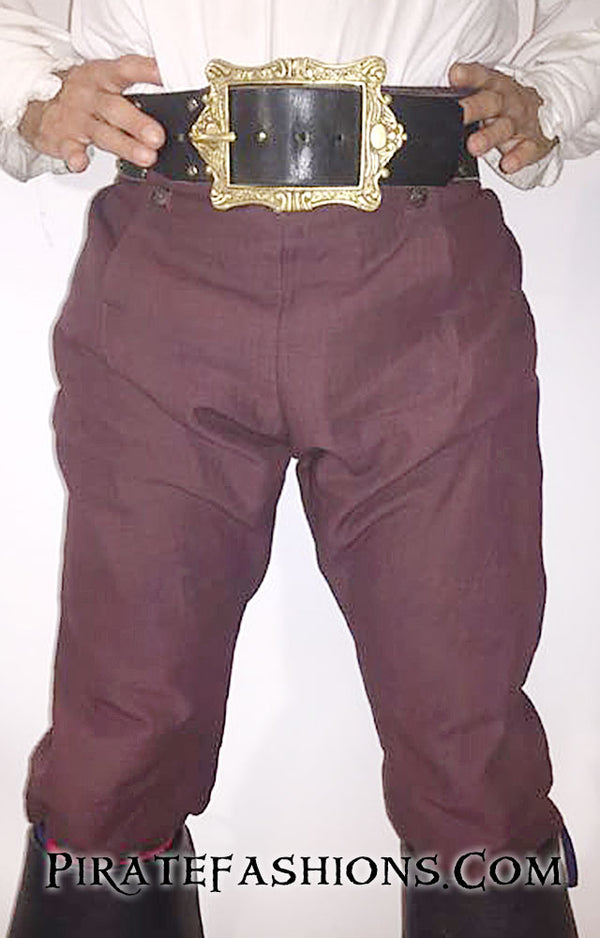 Drop Front Breeches