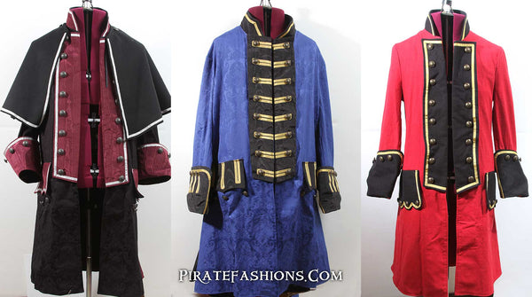 7 Seas Custom Pirate Coat