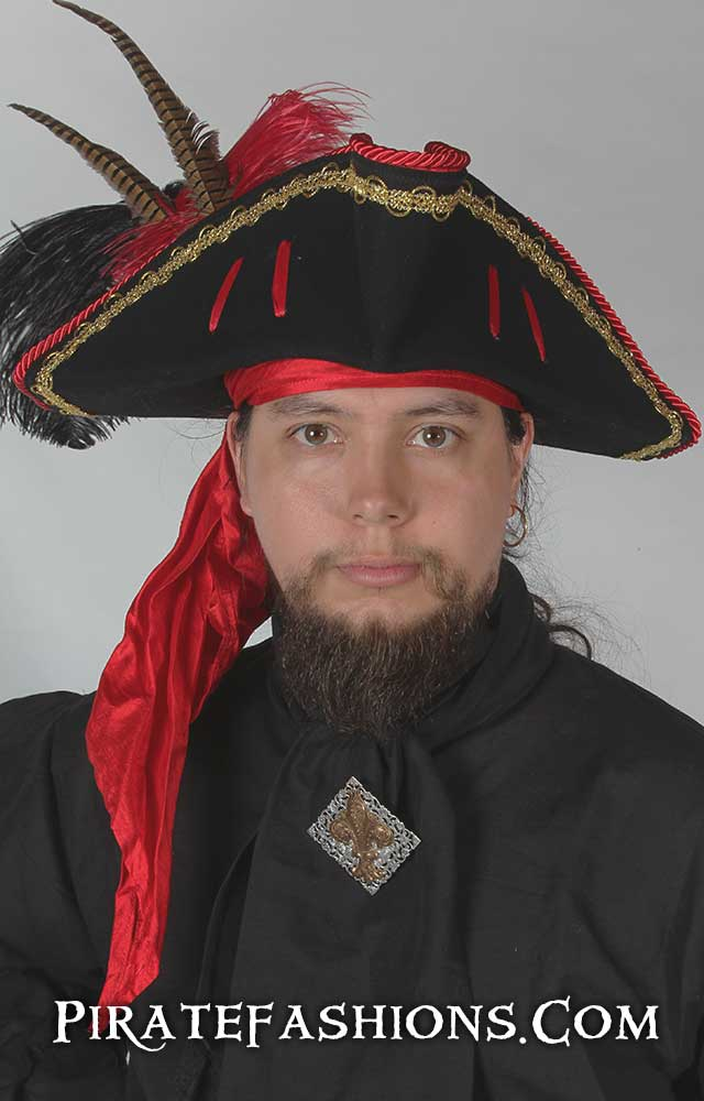 1st Mate Pirate Tricorn Hat